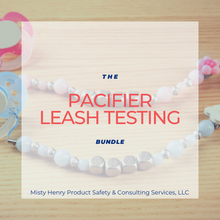 Load image into Gallery viewer, Pacifier Leash Testing Bundle