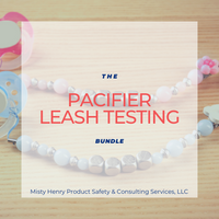 Pacifier Leash Testing Bundle