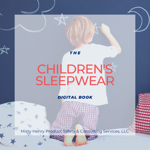The Children's Sleepwear Digital Book
