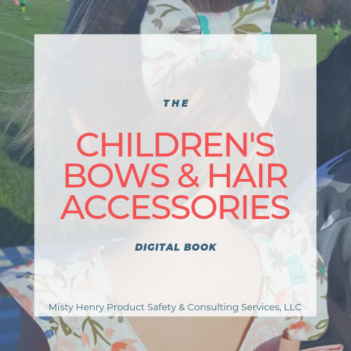 The Children's Bows & Hair Accessories Digital Book