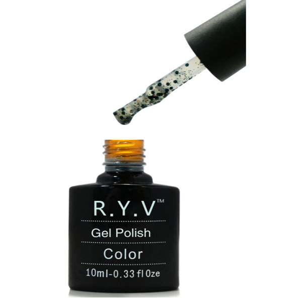 RYV Black Diamonds Gel Polish