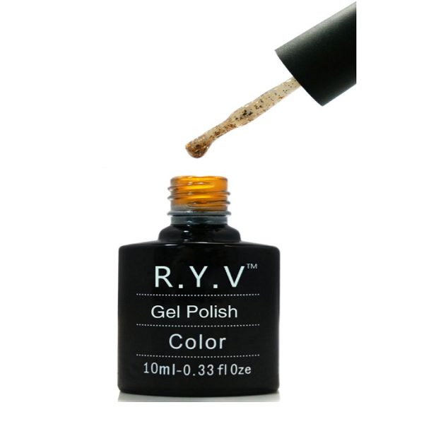 RYV Diamond Gold Gel Polish