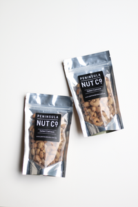 Peninsula Nut Co bag - salted cashews