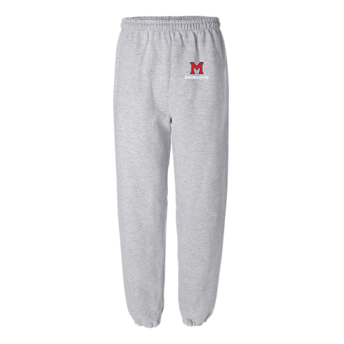Milton Swim & Dive - Unisex Closed Bottom Sweatpants