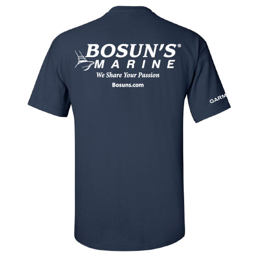 Bosun's / Garmin - Service Cotton Short Sleeve - 48 qty
