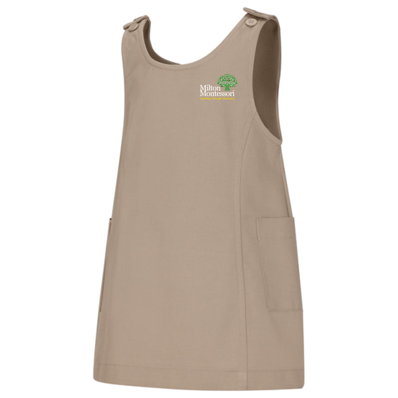 Milton Montessori Preschool Princess Seam Jumper