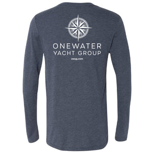 Open image in slideshow, OneWater Yacht Group - Service Triblend Long Sleeve