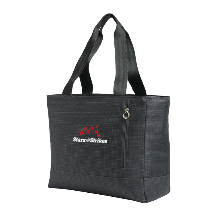 Ladies Laptop Tote - Dark Charcoal