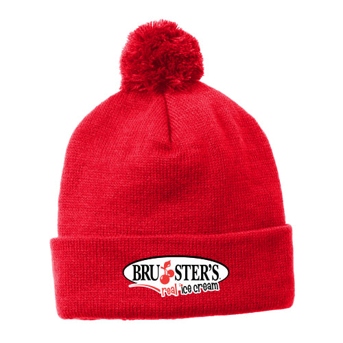 Bruster's Beanie - True Red