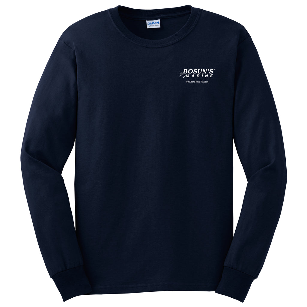 Bosun's - Service Cotton Long Sleeve - 24 qty