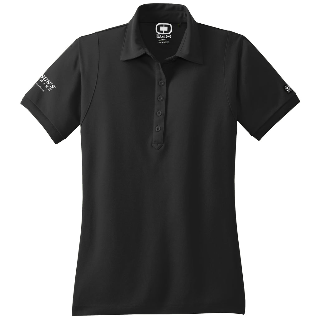 Bosun's - Sales Polo OGIO Black (Women's) - 8 qty