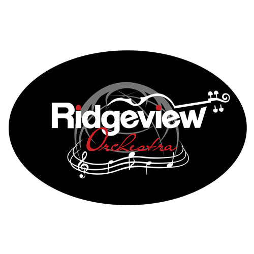 Ridgeview Orchestra - Oval Magnet