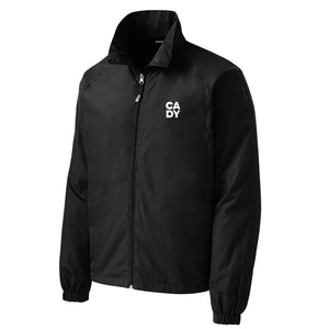Open image in slideshow, Cady Studios - Full-Zip Wind Jacket