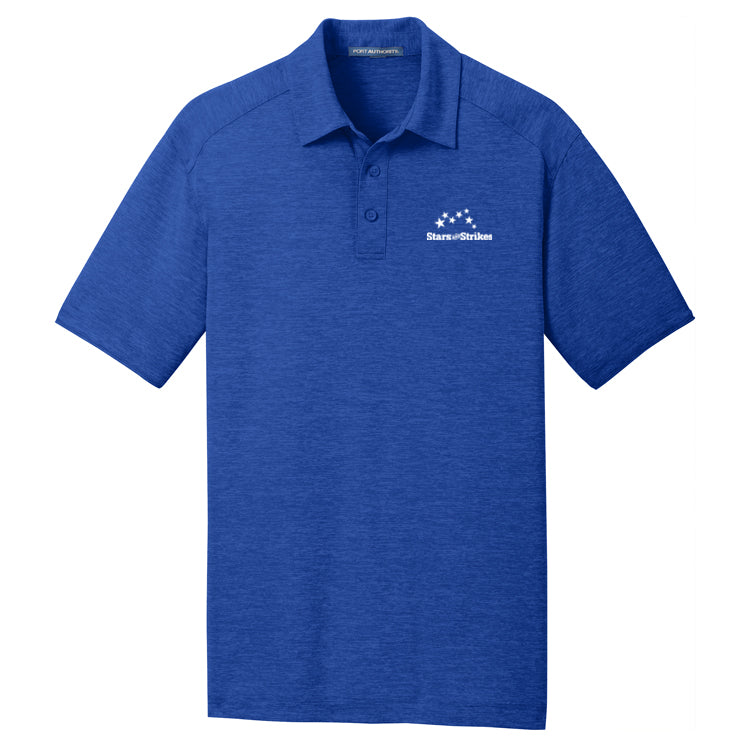 Mens Digi Heather Performance Polo (4 Color Options)