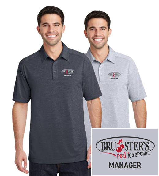 Bruster's Manager Polo : Men's