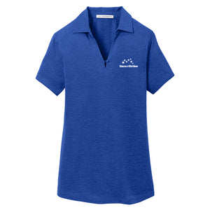 Ladies Digi Heather Performance Polo (5 Color Options)