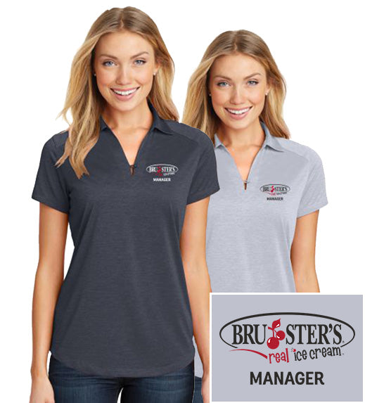 Bruster's Manager Polo : Ladies