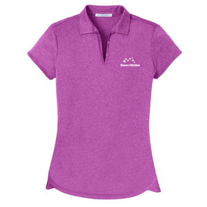 Open image in slideshow, Ladies Trace Heather Polo (6 Color Options)
