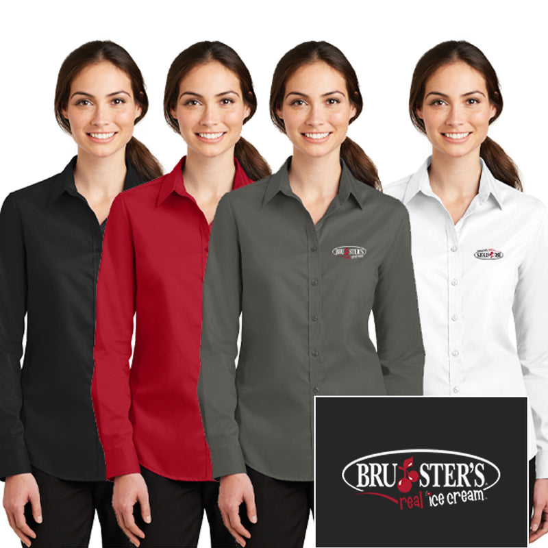 Bruster's SuperPro Twill Shirt : Ladies