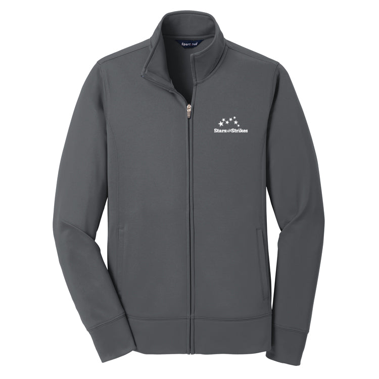 Ladies Fleece Full-Zip Jacket (4 Color Options)