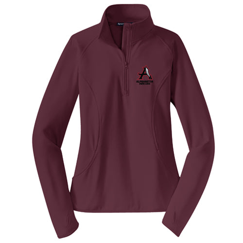 AHS Raiders Swim & Dive - Ladies 1/4 Zip Pullover