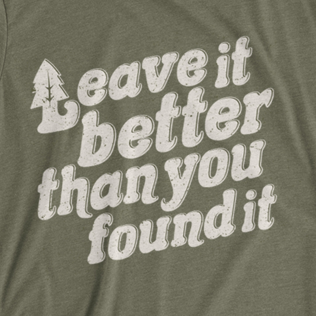 Weez & Ding's | Leave It Better T-Shirt