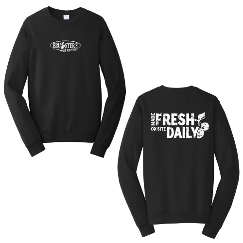 Bruster's Made Fresh Crewneck (3 Color Options)