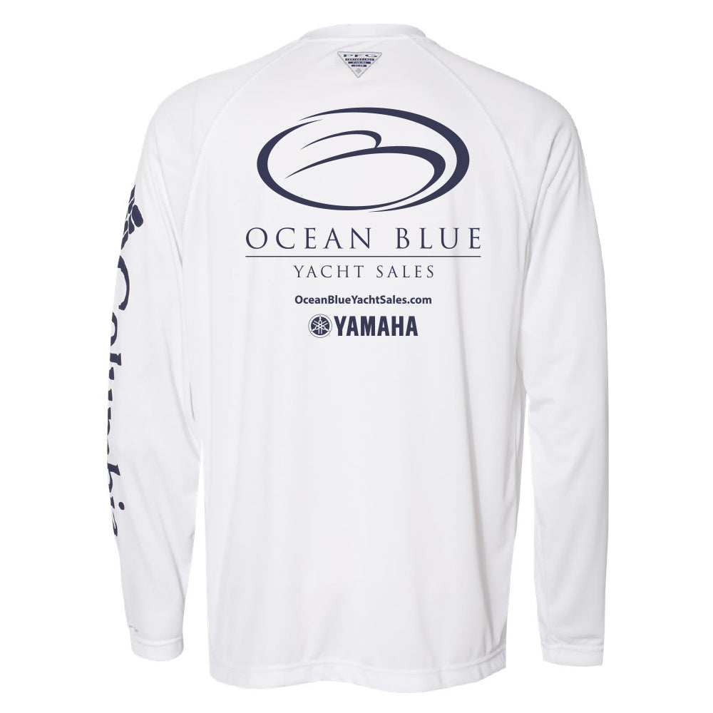 Ocean Blue Yacht - Retail Fishing Shirt Columbia - 24 qty