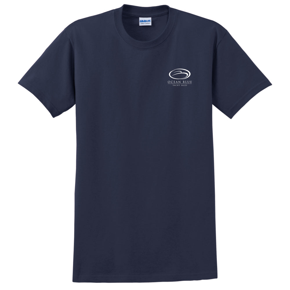 Ocean Blue Yacht - Service Cotton Short Sleeve - 24 qty