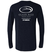 Ocean Blue Yacht - Service Triblend Long Sleeve - 24 qty