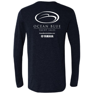 Ocean Blue Yacht - Service Triblend Long Sleeve