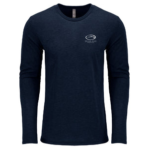 Open image in slideshow, Ocean Blue Yacht - Service Triblend Long Sleeve