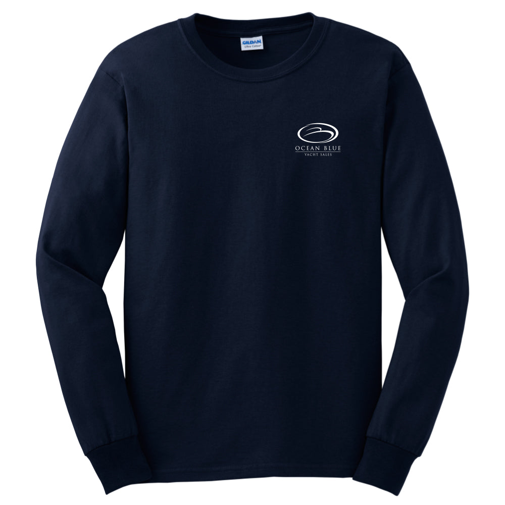 Ocean Blue Yacht - Service Cotton Long Sleeve - 24 qty