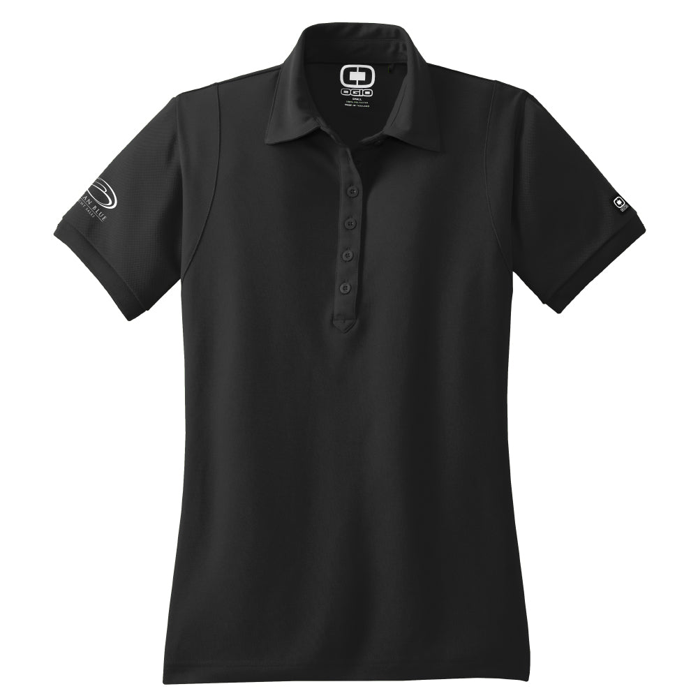 Ocean Blue Yacht - Sales Polo OGIO Black (Women's) - 8 qty