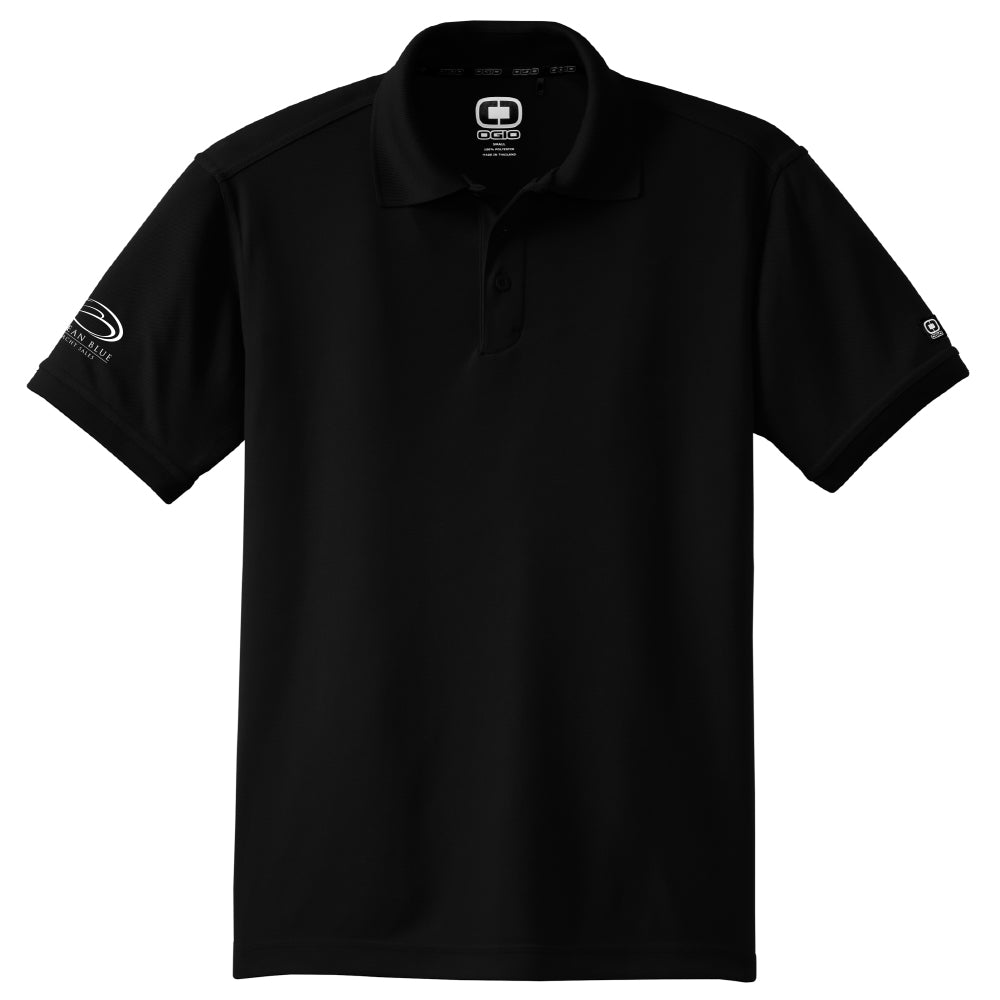 Ocean Blue Yacht - Sales Polo OGIO Black (Men's) - 8 qty