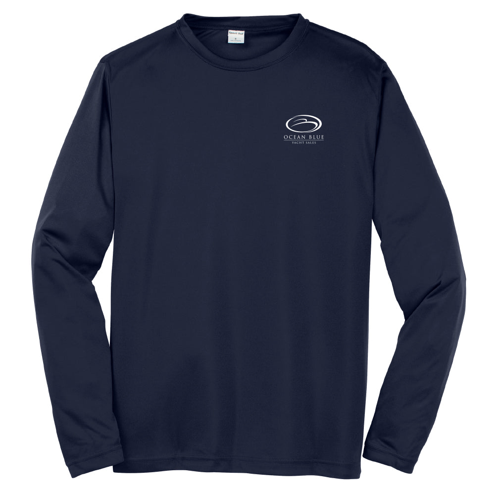 Ocean Blue Yacht - Service Dri-Fit Long Sleeve - 24 qty