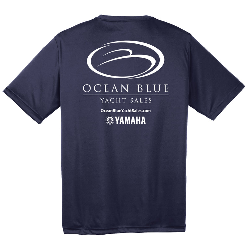 Ocean Blue Yacht - Service Dri-Fit Short Sleeve - 24 qty