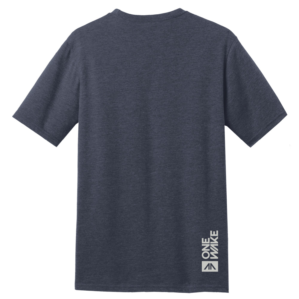 OneWake T-Shirt - Navy - 48 qty