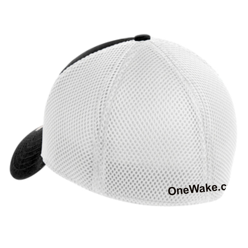 OneWake - Retail Hat - Black/White - 72 qty