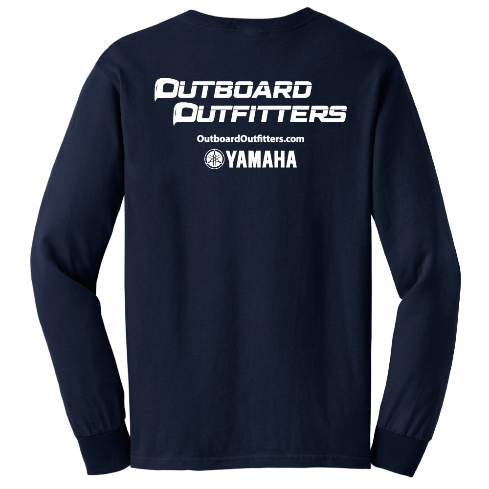 Outboard - Service Cotton Long Sleeve - 24 qty