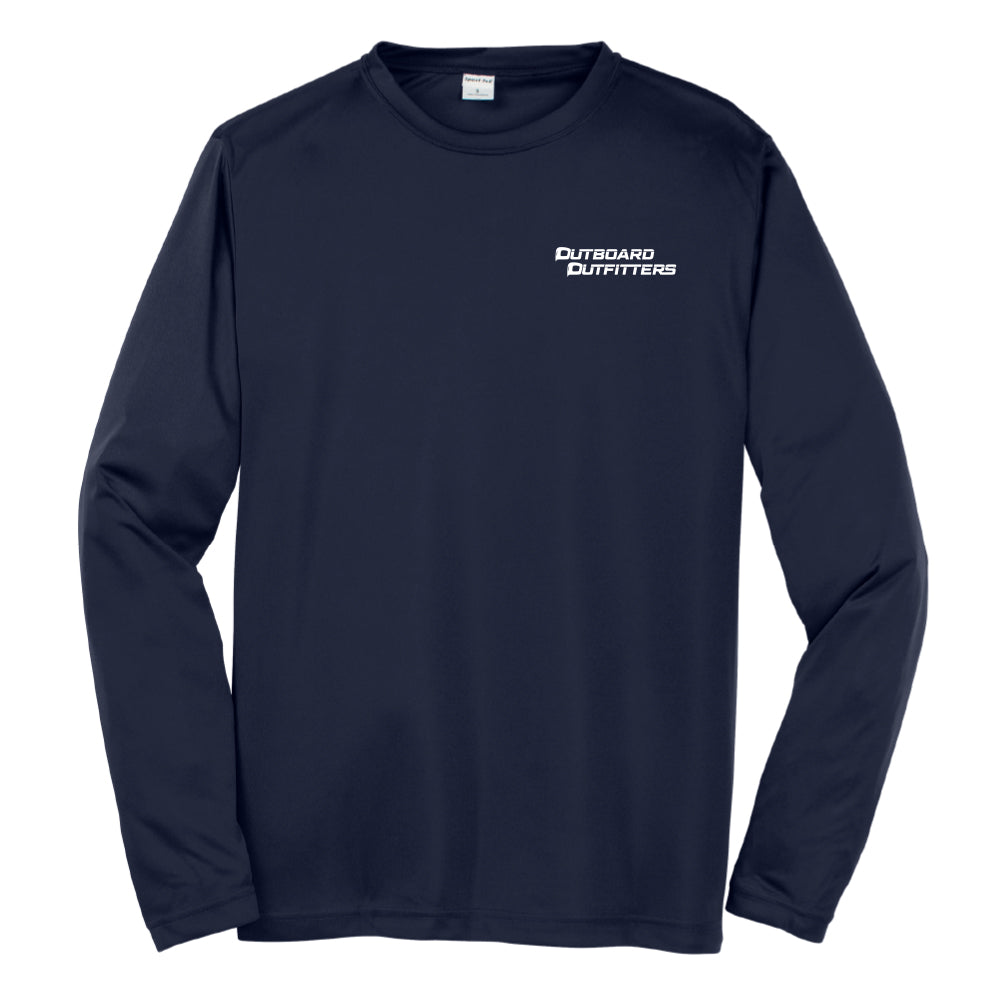 Outboard - Service Dri-Fit Long Sleeve - 24 qty