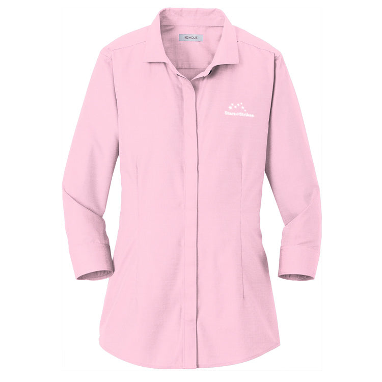3/4 Sleeve Non-Iron Shirt (6 Color Options)