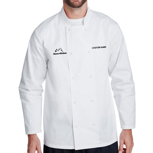 Open image in slideshow, Chef Coat - L/S - White
