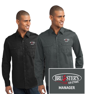 Bruster's Manager Twill Shirt : Men's