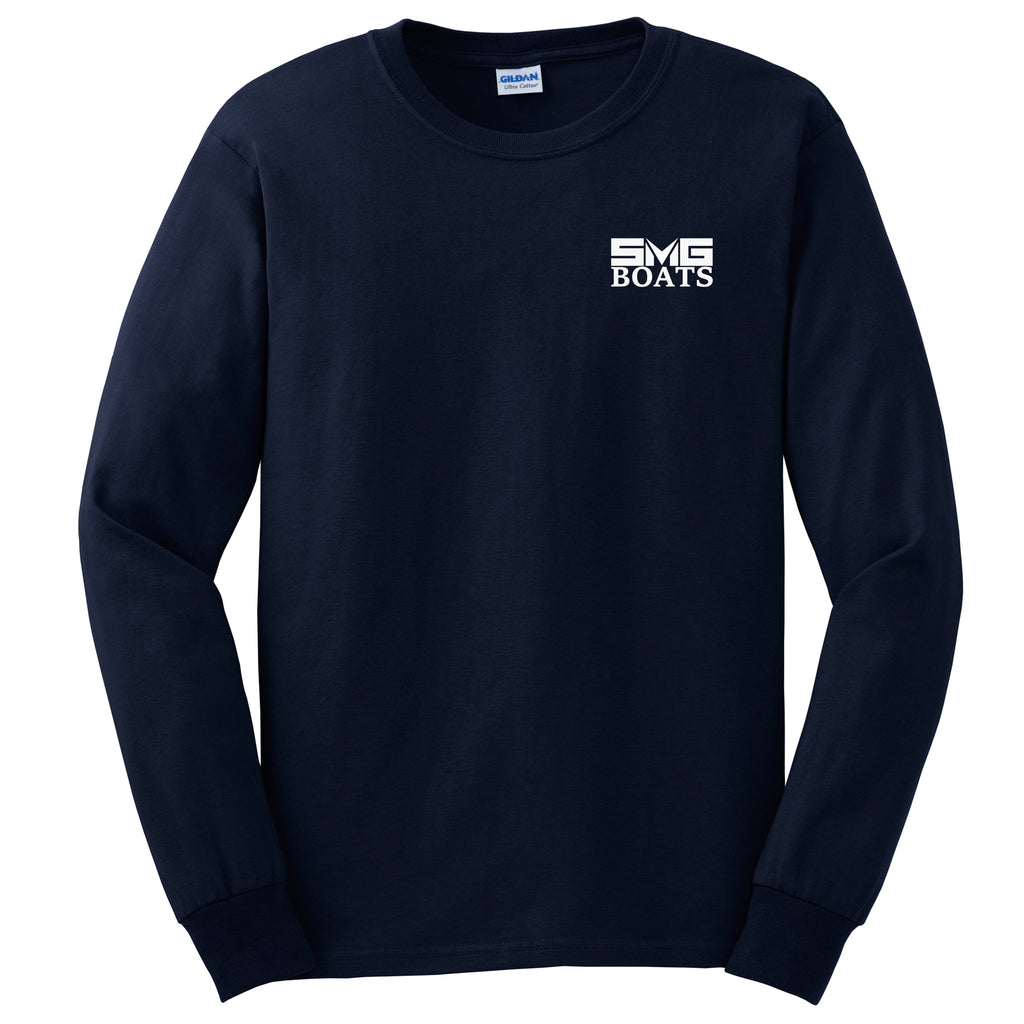 SMG - SMG Boats - Service Cotton Long Sleeve - 24 qty