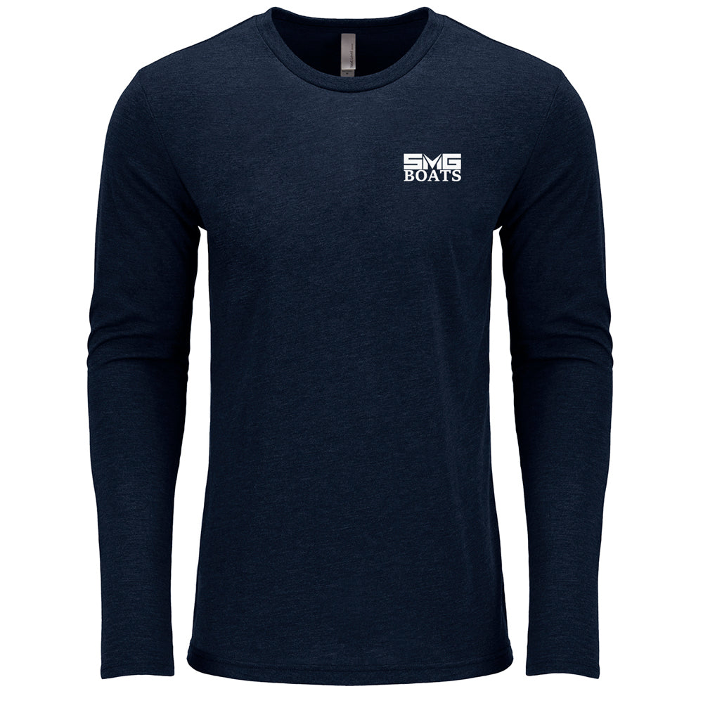 SMG - SMG Boats - Service Triblend Long Sleeve - 24 qty