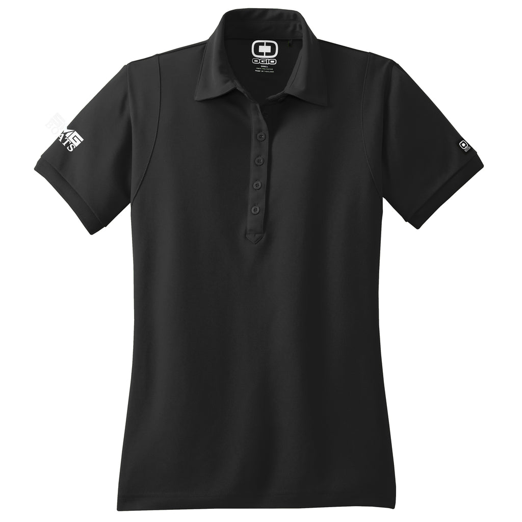 SMG - Sales Polo OGIO Black (Women's) - 8 qty