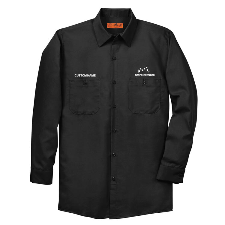 Technician Shirt -L/S - Black