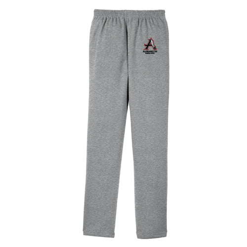 AHS Raiders Swim & Dive - Open Bottom Sweatpants