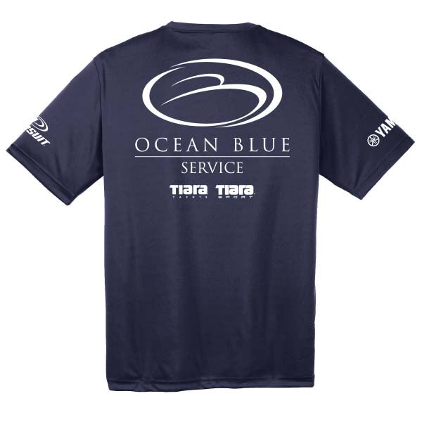 Ocean Blue Yacht - Service Dri-Fit Short Sleeve (Co-Branded) - 72 qty
